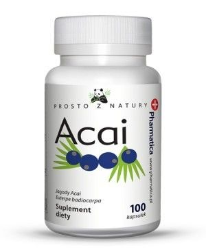 PHARMATICA suplement diety jagoda ACAI 100szt