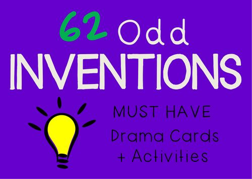 Drama Cards ODD INVENTIONS + suggested drama activities