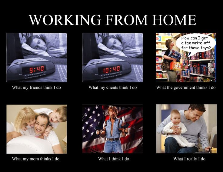 76 best working from home images on pinterest funny for Work from home pictures