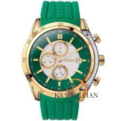 Breeze Stylish Tech Green Chrono Watch 110151.8