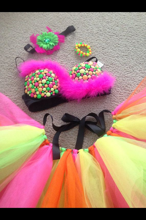 EDC type rave outfit  on Etsy, $95.00