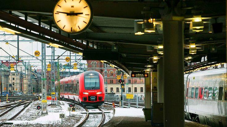 Vi testet jernbanekonkurrentene SJ og MTR - Aftenposten