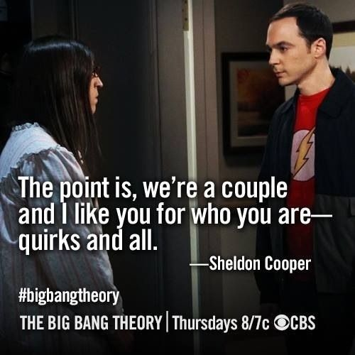 sheldon cooper and penny relationship goals