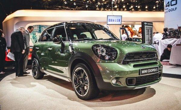 2015 Mini Paceman auto show