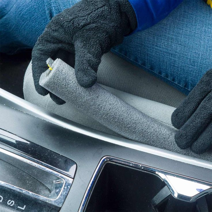 Cut pipe foam to fit in the spaces around the seats in your car to prevent things from falling in between!
