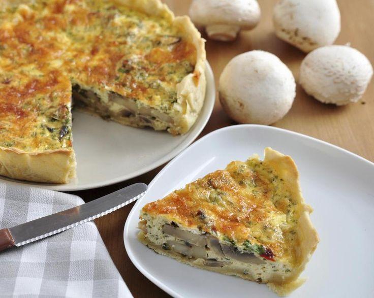 Retete vegetariene de nota 10: quiche cu tofu - Andreea Raicu