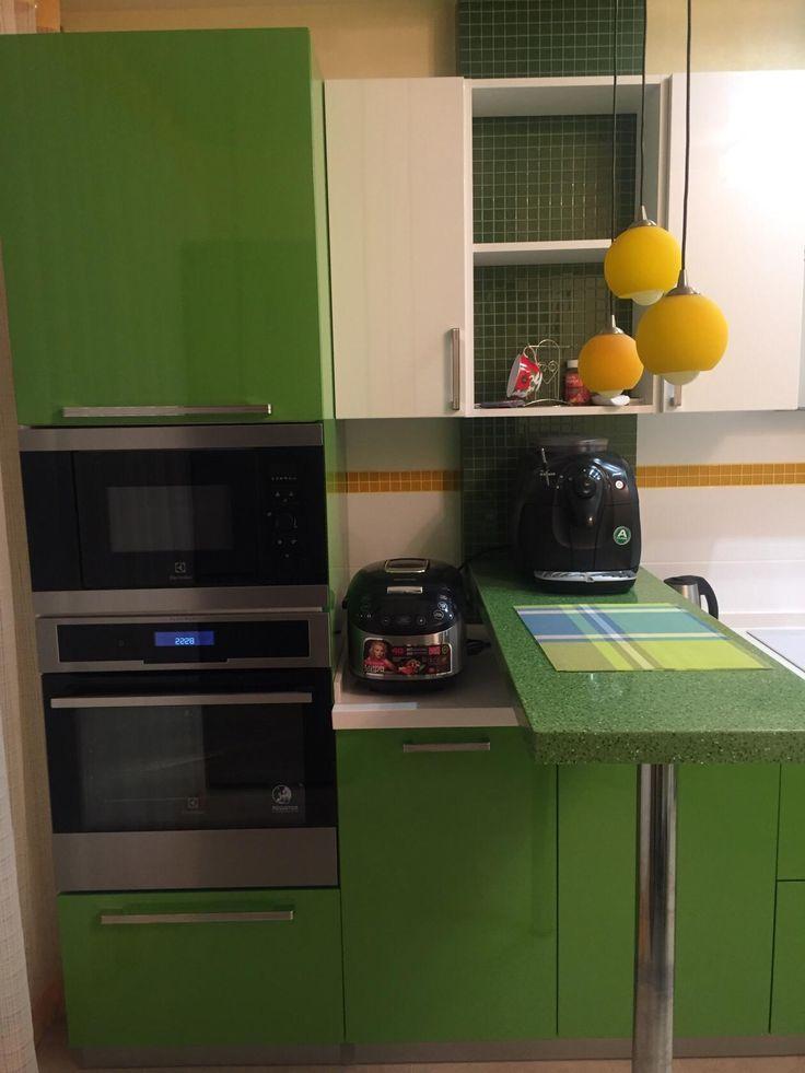 Желто-зеленая кухня, дизайн, сочетание цветов, фото | Дизайн кухни, интерьер, ремонт, фото