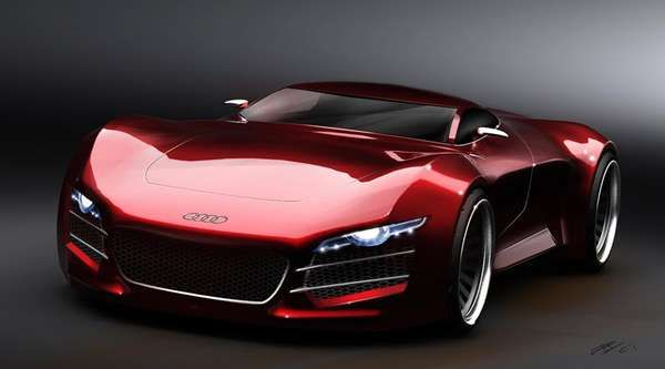 Monsterously Exotic Cars - Marouane Bembli Designs the Audi R10 Concept