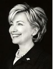 Hilary Clinton United States Secretary of State - the first former First Lady to serve in a president's cabinet.