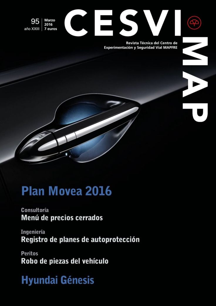 Revista CESVIMAP Nº 95: Plan Movea 2016