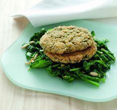 Burger di spinaci e fagioli - Tutte le ricette dalla A alla Z - Cucina Naturale - Ricette, Menu, Diete