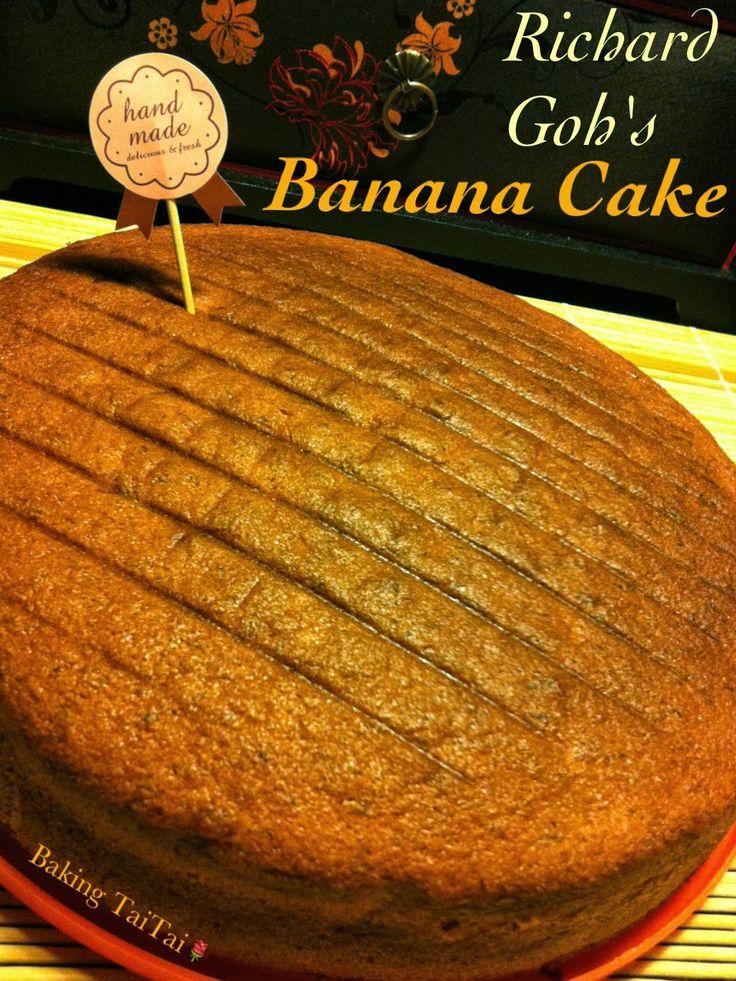 Baking Taitai: Banana Cake 香蕉蛋糕 (中英食谱)