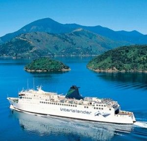 Inter island ferry - Wellington to Picton, New Zealand