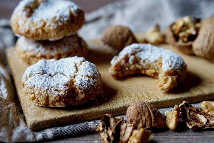 Biscotti+Morbidi+alle+Noci