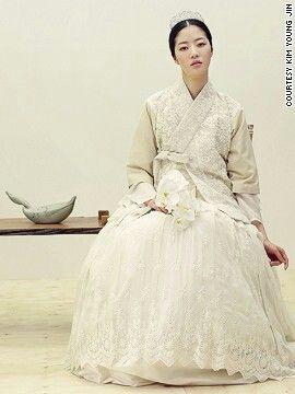 Bridal 한복 Hanbok / Traditional Korean dress | Kim Young Jin