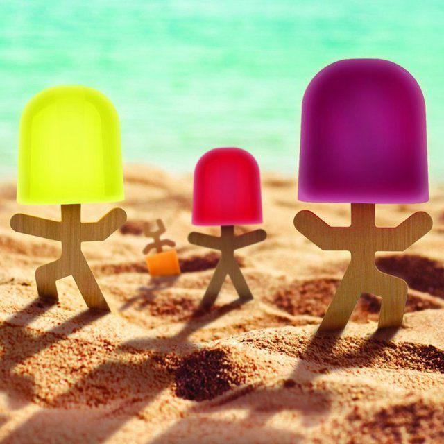 Cute Lollypop Stick Men Popsicle Molds | Product i Love | Pinterest