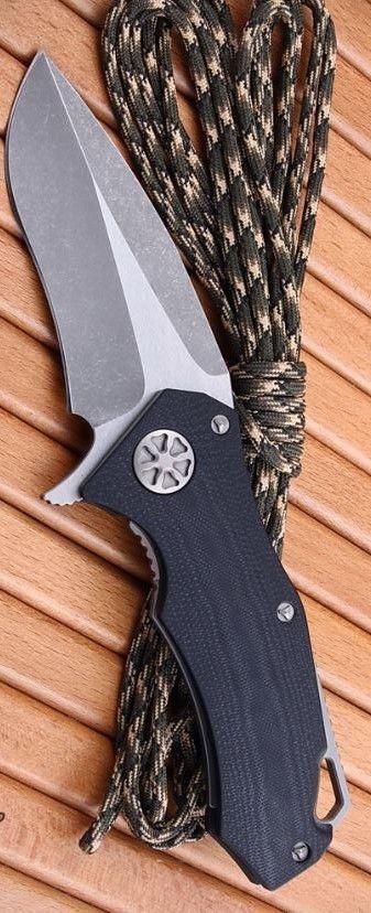 Star Lord Framelock EDC Folding Knife Blade Apocalypti by Marfione Custom Knives - Everyday Carry Gear