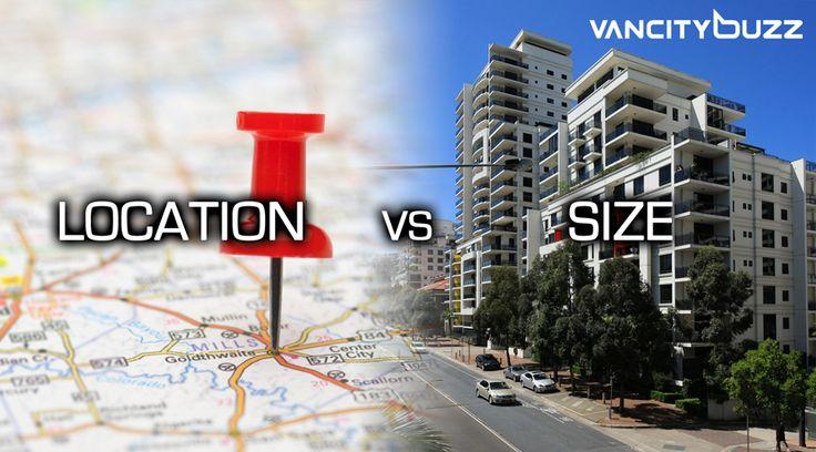 Location vs Size