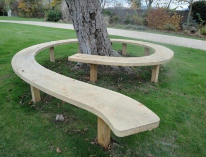 Cool tree bench
