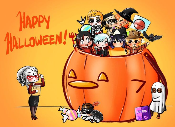 Happy halloween ag nonsuch rwby rwby anime rwby