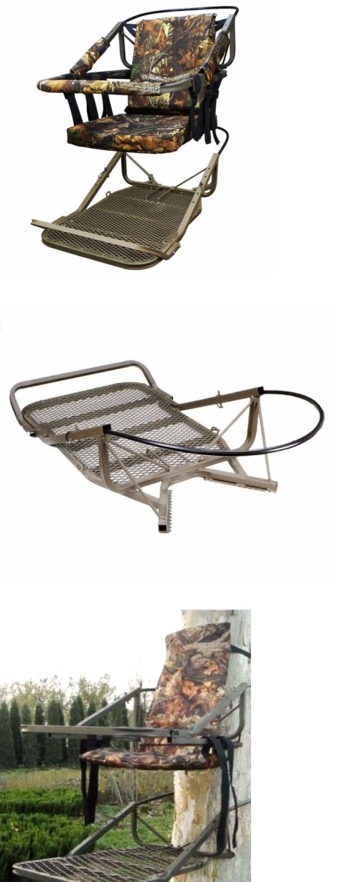 Blind and Tree Stand Accessories 177912: Climbing Hunting Stand 300 Pound Capacity Camo Comfort Seat * To 20 Tree -> BUY IT NOW ONLY: $249.95 on eBay!