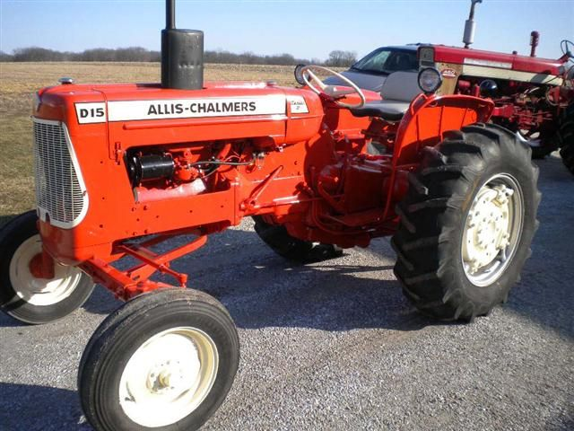 AC Allis Chalmers D15 gas tractor