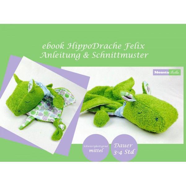 Ebook - hippodrache felix   nähen   Pinterest   Sewing, Amigurumi ...