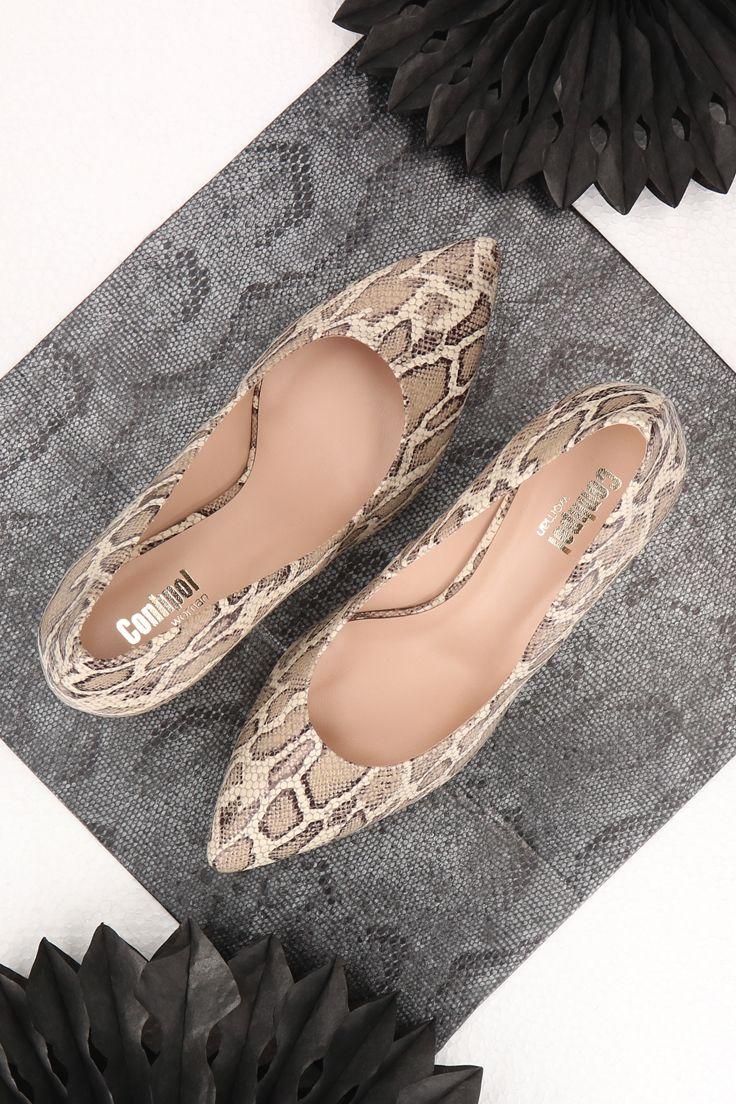 Czolenka Wzor Waz Chanel Ballet Flats Ballet Flats Shoes