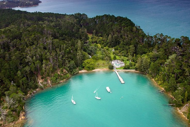 Kawau Island, Mansion House.  Short day trip from Warkworth by ferry from Sandspit wharf.  Lovely bush hikes and history.  Wonderful beach for a swim in the summer.