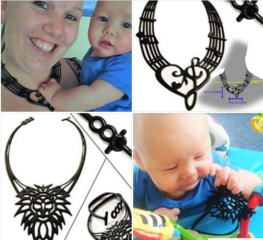 Keeping the groove happening for new mum's. Safe, Eco-friendly, food grade silicone funky necklaces. Safe for bub