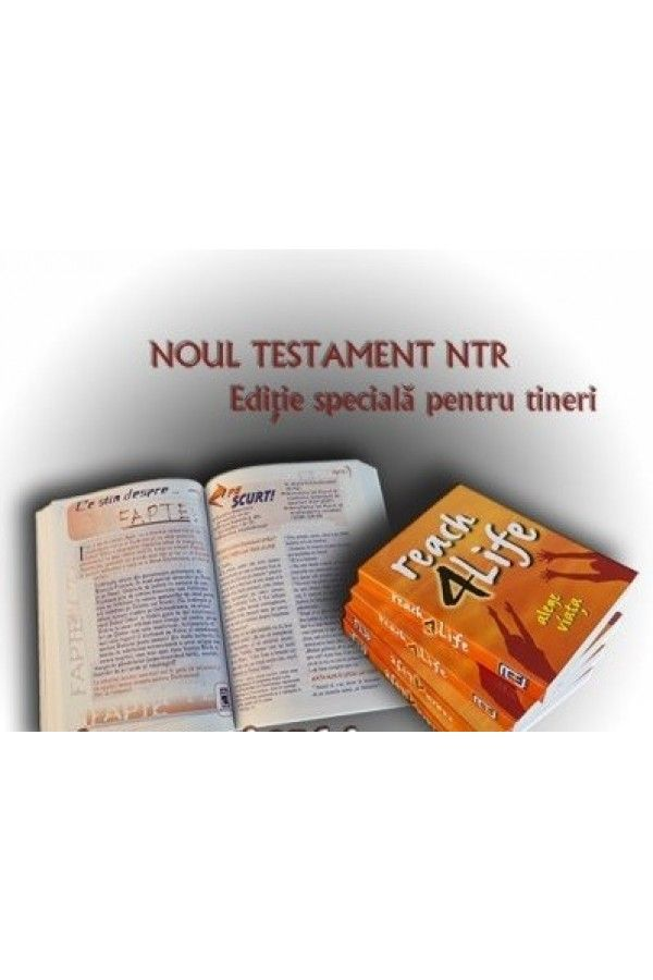 Noul Testament NTR pentru tineri - Reach4Life