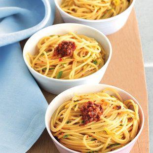 Recipe for Spaghetti With Zucchini And 'Nduja : La Cucina Italiana