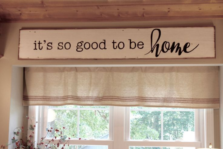 It's so good to be Home, reclaimed wood sign, fixer upper inspired, kitchen sign - centophobe.com/... -