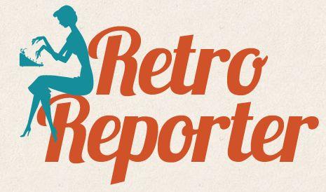 Retro Reporter logo, designed by Laurie Callsen