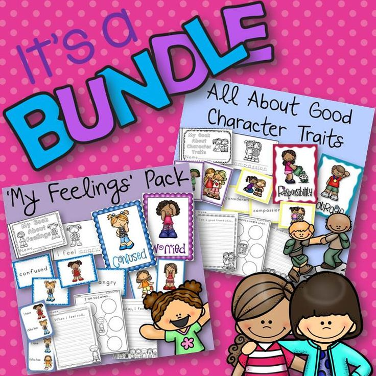 I have had many, many requests for this! This is a Money Savings Bundle of two of my products All About Good Character Traits and My Feelings Pack. It is packed full of activities and resources to help you teach all about character traits and feelings in your classroom. This is also a great product for a guidance counselor to use for classroom lessons or for one on one and small group sessions.