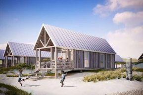 NEU Dünenhäuser Nieuwvliet. Am Strand und Meer. …