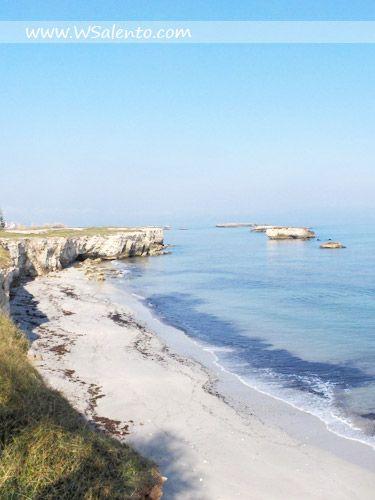 San Foca, beach of Brigantini, beach Aranci, Port and Promenade