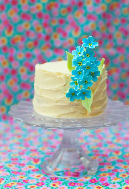 HOW TO MAKE SUGAR FORGET ME NOTS