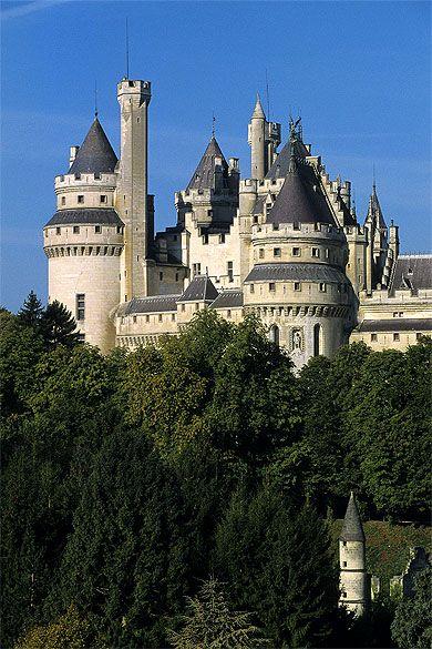 Château de Pierrefonds. Picardie