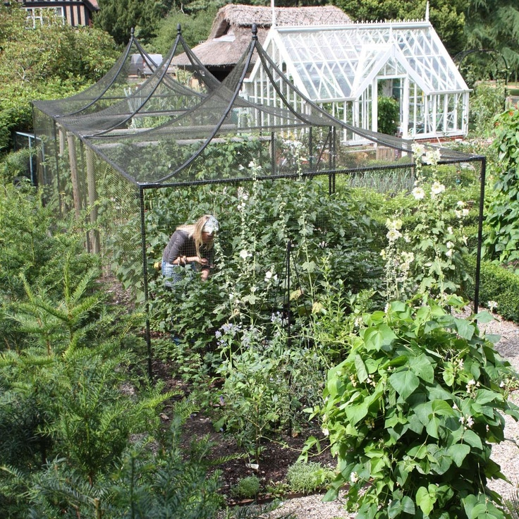 1000 images about fruit cages and netting on pinterest for Roof peak decorations