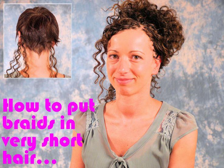 Anja:  Tipp zum Open Braids in sehr kurzes Haar einflechten - superschön...
