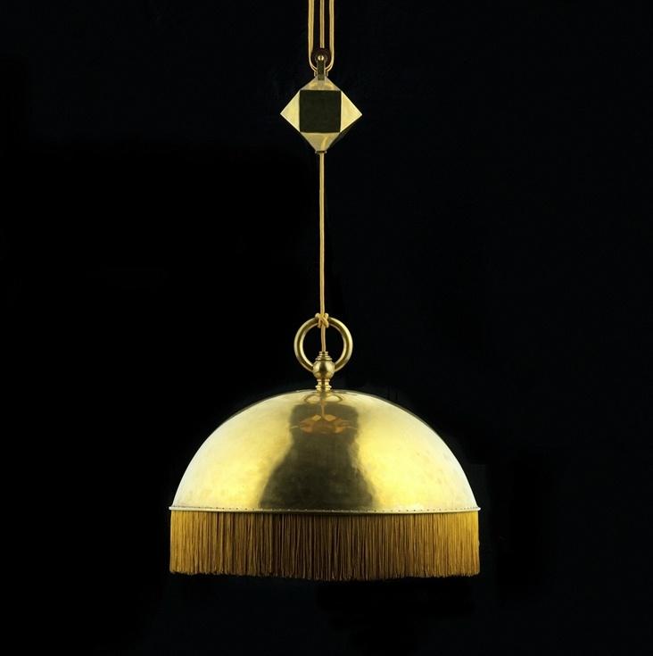 Adolf Loos hanging chandelier c. 1900