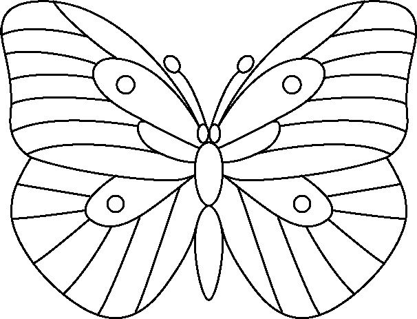 Butterfly designs for glass painting - photo#37