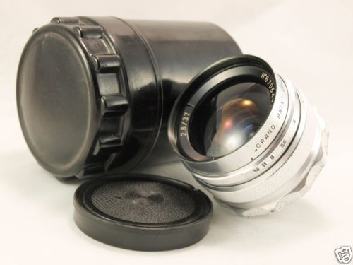 MIR-1 2.8/37 mm f/2.8 RARE 1957 RUSSIAN USSR LENS M39 MOUNT GRAND PRIX EXCELLENT in Cameras & Photo, Lenses & Filters, Lenses | eBay