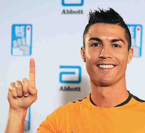 #Soccer Star #CristianoRonaldo Asks You to Donate Blood #BETHE1DONOR