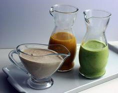 O post de hoje são molhos para saladas, uma forma de você variar sua salada e não enjoar dela tão cedo. Molho de Iogurte com Mostarda ½ xícara de chá de azeite extra virgem 1 colher de sopa de vinagre de vinho branco 1 colheres de sopa de mostarda 1 copo de iogurte 1 dente…