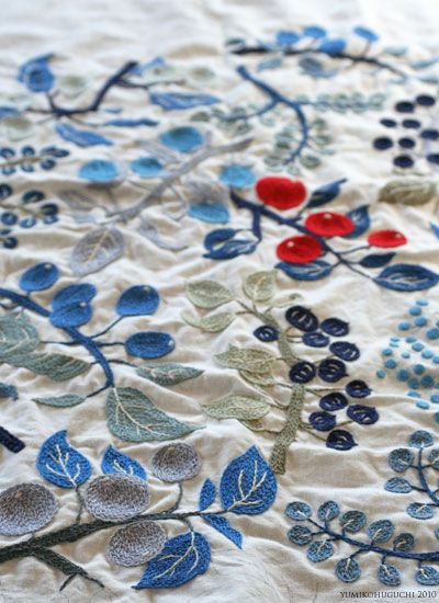 Yumiko Higuchi, #embroidery
