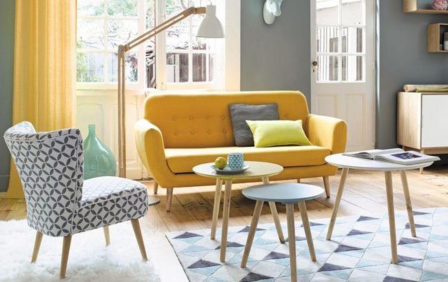 Mon coup de coeur pour la collection vintage Maisons du Monde. Inspiration scandinave années 30 : couleurs pastels et mélange des matières.