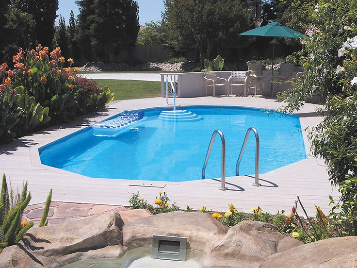 In Ground Pool Ideas semi inground pool landscaping ideas semi inground pools ideas in rectangular and curved shapes 25 Best Ideas About In Ground Pools On Pinterest Backyard Ideas Pool Pool Ideas And Diy Pool