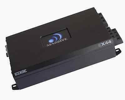 Massive Audio EX44 Edge 400 W Max 2 Ohm Stereo 4 Channel Car Audio Amplifier #Massive